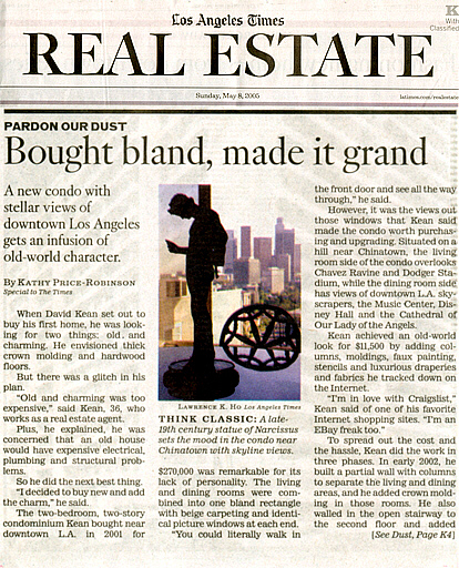 Los Angeles Times Real Estate Information
